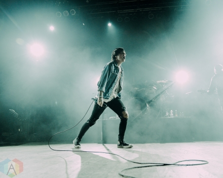 DALLAS, TX - JANUARY 22 -Sleeping With Sirens performs at House of Blues Dallas in Dallas, Texas on January 22, 2019. (Photo: Minh Nguyen/Aesthetic Magazine)