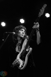 TORONTO, ON - JANUARY 28 - Temples performs at Lee's Palace in Toronto on January 28, 2019. (Photo: Steve Danyleyko/Aesthetic Magazine)