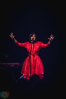 TORONTO, ON - FEBRUARY 22 - Bat For Lashes performs at Phoenix Concert Theatre in Toronto on February 22, 2019. (Photo: Myles Herod/Aesthetic Magazine)