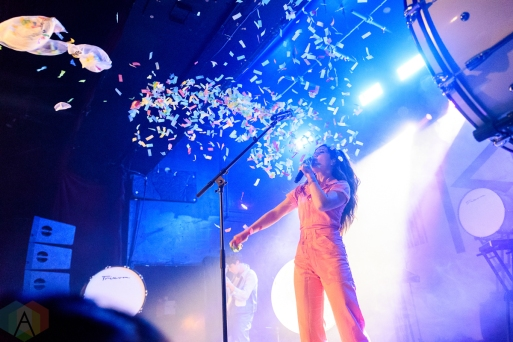 TORONTO, ON - FEBRUARY 17 - Echosmith performs at Mod Club in Toronto on February 17, 2019. (Photo: Jaime Espinoza/Aesthetic Magazine)