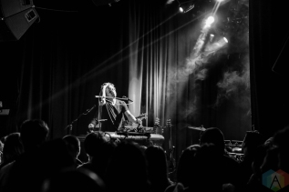 LOS ANGELES, CA - FEBRUARY 17 - Elliot Moss performs at The Echo in Los Angeles on February 17, 2019. (Photo: Kelli Binnings/Aesthetic Magazine)
