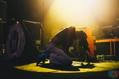 MANCHESTER, UK - FEBRUARY 12 - Ho99o9 performs at Manchester Academy in Manchester, UK on February 12, 2019. (Photo: Priti Shikotra/Aesthetic Magazine)