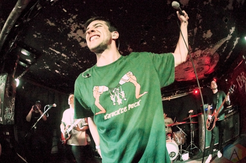 TORONTO, ON - FEBRUARY 24 - Knuckle Puck performs at Sneaky Dee's in Toronto on February 24, 2020. (Photo: Morgan Harris/Aesthetic Magazine)