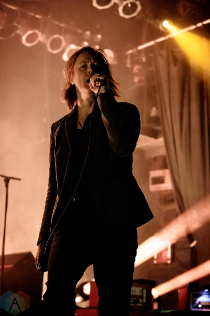 TORONTO, ON - FEBRUARY 25 - Refused performs at Phoenix Concert Theatre in Toronto on February 25, 2020. (Photo: David McDonald/Aesthetic Magazine)