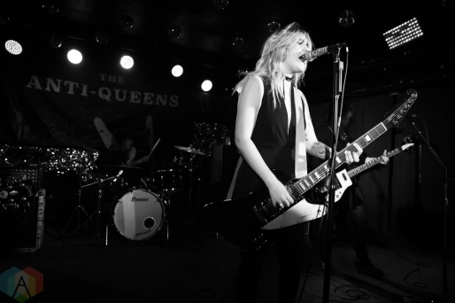 TORONTO, ON - FEBRUARY 22 - The Anti-Queens performs at Horseshoe Tavern in Toronto on February 22, 2019. (Photo: Brendan Albert/Aesthetic Magazine)
