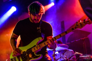 TORONTO, ON - FEBRUARY 17 - Weathers performs at Mod Club in Toronto on February 17, 2019. (Photo: Jaime Espinoza/Aesthetic Magazine)