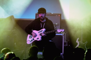 LOS ANGELES, CA - FEBRUARY 15 - This Will Destroy You performs at Teragram Ballroom in Los Angeles on February 15, 2019. (Photo: Kelli Binnings/Aesthetic Magazine)