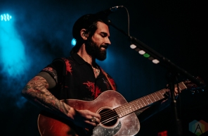 DETROIT, MI - MARCH 03 - Dashboard Confessional performs at St Andrews Hall in Detroit on March 03, 2020. (Photo: Jamie Limbright/Aesthetic Magazine)