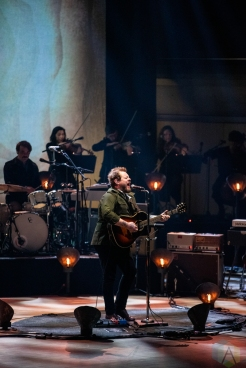 TORONTO, ON - MARCH 08 - Nathaniel Rateliff performs at Roy Thomson Hall in Toronto on March 08, 2020. (Photo: Morgan Hotston/Aesthetic Magazine)