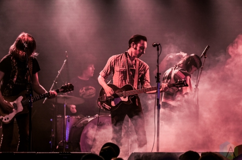 TORONTO, ON - FEBRUARY 29 - Black Lips performs at Lee's Palace in Toronto on February 29, 2020. (Photo: Joanna Glezakos/Aesthetic Magazine)
