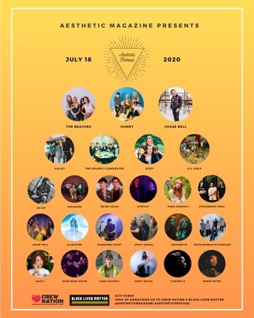 Aesthetic Festival - Full Lineup