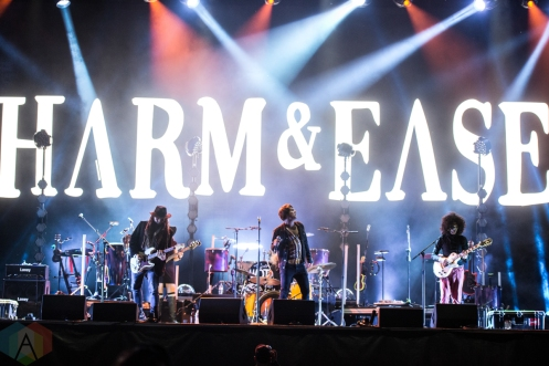 TORONTO, ON – SEPT 12: Harm And Ease performs at OLG Play Stage in Toronto on September 12, 2020. (Photo: Joanna Glezakos/Aesthetic Magazine)