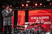 EDMONTON, AB – Aug. 29: Calling All Captains perform at the Racetrack Infield in Edmonton, Alberta. on August 29, 2021. (Photo: Tyler Roberts/Aesthetic Magazine)