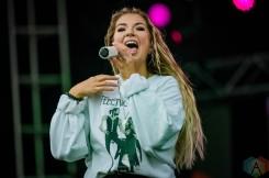 EDMONTON, AB – Aug. 22: Jess Moskaluke performs at the Racetrack Infield in Edmonton, Alberta. on August 22, 2021. (Photo: Tyler Roberts/Aesthetic Magazine)