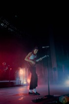 COLUMBUS, OH - Aug. 8 - PVRIS performs at EXPRESS LIVE! in Columbus, Ohio on August 8th, 2021. (Photo: Emma Fischer/Aesthetic Magazine)
