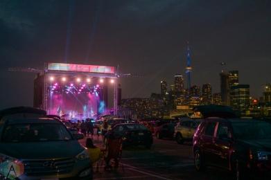 TORONTO, ON – Aug. 7: Scott Helman performs at the CityView Drive-In in Toronto on August 7, 2021. (Photo: Joanna Glezakos/Aesthetic Magazine)