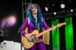 EDMONTON, AB – Aug. 7: Shaella Miller performs at the Racetrack Infield in Edmonton, AB. on August 6, 2021. (Photo: Tyler Roberts/Aesthetic Magazine)