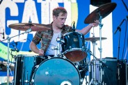 EDMONTON, AB – Aug. 20: The Dirty Nil performs at the Racetrack Infield in Edmonton, AB. on August 20, 2021. (Photo: Tyler Roberts/Aesthetic Magazine)