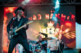 EDMONTON, AB – Aug. 22: The Road Hammers perform at the Racetrack Infield in Edmonton, Alberta. on August 22, 2021. (Photo: Tyler Roberts/Aesthetic Magazine)