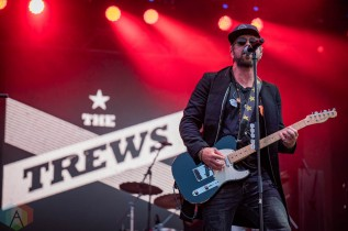 EDMONTON, AB – Aug. 8: The Trews perform at the Racetrack Infield in Edmonton, AB. on August 8, 2021. (Photo: Tyler Roberts/Aesthetic Magazine)