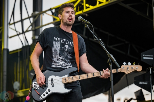 EDMONTON, AB – Aug. 6: The Jerry Cans perform at the Racetrack Infield in Edmonton, AB. on August 6, 2021. (Photo: Tyler Roberts/Aesthetic Magazine)