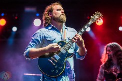 EDMONTON, AB – Aug. 20: The Sheepdogs perform at the Racetrack Infield in Edmonton, AB. on August 20, 2021. (Photo: Tyler Roberts/Aesthetic Magazine)