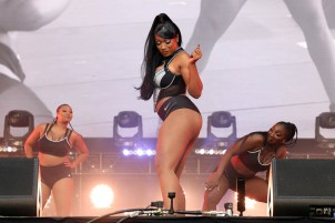 NEW YORK, NEW YORK - SEPTEMBER 25: Megan Thee Stallion performs during the 2021 Governors Ball Music Festival at Citi Field on September 25, 2021 in New York City. (Photo by Taylor Hill/Getty Images for Governors Ball)