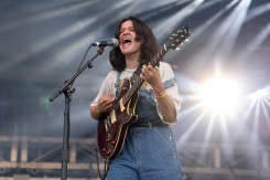 NEW YORK, NEW YORK - SEPTEMBER 25: King Princess performs during the 2021 Governors Ball Music Festival at Citi Field on September 25, 2021 in New York City. (Photo by Taylor Hill/Getty Images for Governors Ball)