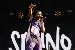 NEW YORK, NEW YORK - SEPTEMBER 26: Smino performs during the 2021 Governors Ball Music Festival at Citi Field on September 26, 2021 in New York City. (Photo by Taylor Hill/Getty Images for Governors Ball)