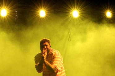NEW YORK, NEW YORK - SEPTEMBER 26: Post Malone performs during the 2021 Governors Ball Music Festival at Citi Field on September 26, 2021 in New York City. (Photo by Taylor Hill/Getty Images for Governors Ball)