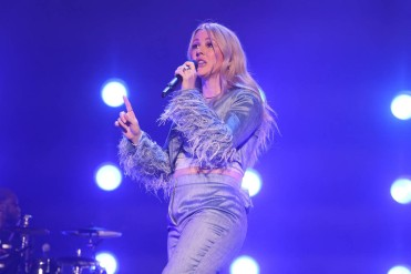 NEW YORK, NEW YORK - SEPTEMBER 26: Ellie Goulding performs during the 2021 Governors Ball Music Festival at Citi Field on September 26, 2021 in New York City. (Photo by Taylor Hill/Getty Images for Governors Ball)