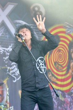 CHICAGO, IL - SEPT 19 - Anthrax performs at Riot Fest in Chicago, Illinois on September 19, 2021. (Photo: Curtis Sindrey/Aesthetic Magazine)