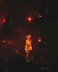NEW YORK, NEW YORK: Billie Eilish performs during the 2021 Governors Ball Music Festival at Citi Field in New York City. (Photo: Governors Ball)