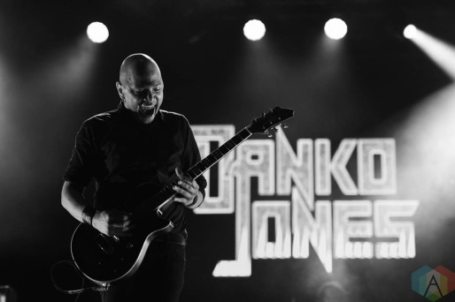 HAMILTON, ON - SEPT 18: Danko Jones performs at Festival of Friends in Hamilton, ON on September 18, 2021. (Photo: Veronique Giguere/Aesthetic Magazine)