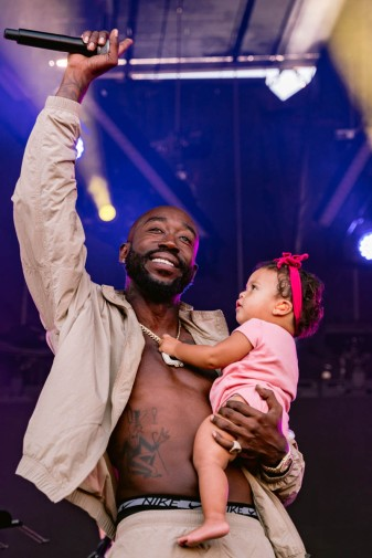 NEW YORK, NEW YORK: Freddie Gibbs performs during the 2021 Governors Ball Music Festival at Citi Field in New York City. (Photo: Governors Ball)