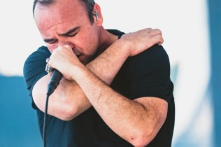 NEW YORK, NEW YORK: Future Islands performs during the 2021 Governors Ball Music Festival at Citi Field in New York City. (Photo: Governors Ball)