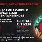 "Global Citizen Announces 24-Hour Live Concert Event ""Global CitizenLive"""