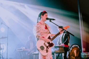 COLUMBUS, OH - Sept. 14 - Japanese Breakfast performs at The Athenaeum Theatre in Columbus, Ohio on September 14, 2021. (Photo: Emma Fischer/Aesthetic Magazine)