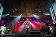 EDMONTON, AB – Sept. 5: Kiesza performs at the Racetrack Infield in Edmonton, Alberta. on September 5 2021. (Photo: Tyler Roberts/Aesthetic Magazine)
