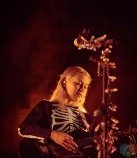 LEWISTON, NY - Sept. 15: Phoebe Bridgers performs at Artpark Outdoor Amphitheater in Lewiston, NY on September 15, 2021. (Photo: Noelle Steele/Aesthetic Magazine)