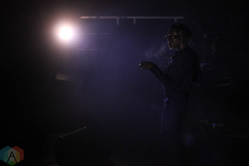 ROUYN-NORANDA, QC. - Sept. 02: Pierre Kwenders performs at FME 2021 in Rouyn-Noranda, Qubec on September 02, 2021. (Photo: Curtis Sindrey/Aesthetic Magazine)