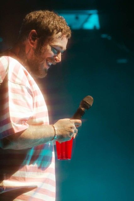 NEW YORK, NEW YORK: Post Malone performs during the 2021 Governors Ball Music Festival at Citi Field in New York City. (Photo: Governors Ball)