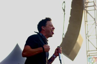 CHICAGO, IL - SEPT 19 - Simple Plan performs at Riot Fest in Chicago, Illinois on September 19, 2021. (Photo: Curtis Sindrey/Aesthetic Magazine)