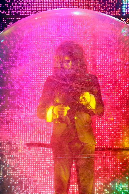 CHICAGO, IL - SEPT 19 - The Flaming Lips perform at Riot Fest in Chicago, Illinois on September 19, 2021. (Photo: Curtis Sindrey/Aesthetic Magazine)