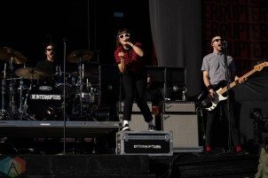LOS ANGELES, CA - Sept. 03: The Interrupters perform at Dodger Stadium in Los Angeles, California on September 03, 2021. (Photo: Zoe Sher/Aesthetic Magazine)