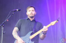 CHICAGO, IL - SEPT 17 - Thrice performs at Riot Fest in Chicago, Illinois on September 17, 2021. (Photo: Curtis Sindrey/Aesthetic Magazine)