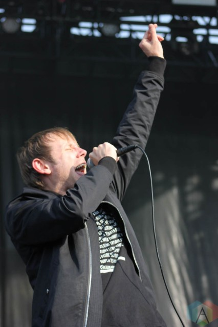 CHICAGO, IL - SEPT 19 - Thursday performs at Riot Fest in Chicago, Illinois on September 19, 2021. (Photo: Curtis Sindrey/Aesthetic Magazine)