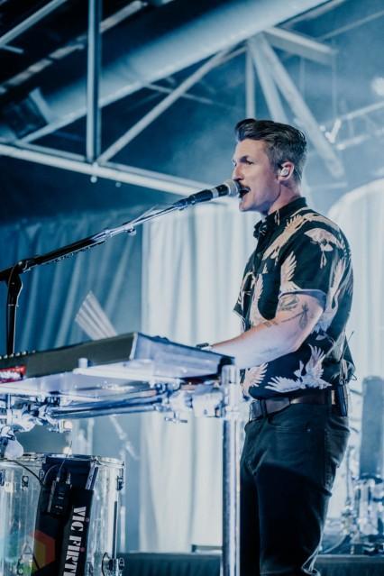 NASHVILLE, TN - Sept. 22: Walk The Moon performs at Marathon Music Works in Nashville, TN. on September 22, 2021. (Photo: Aubrey Wise/Aesthetic Magazine)