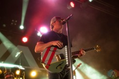 SAN FRANCISCO, CA - SEPT 30: Angels & Airwaves perform at the Warfield in San Francisco, California on September 30, 2021. (Photo: Kris Fuentes Cortes/Aesthetic Magazine)