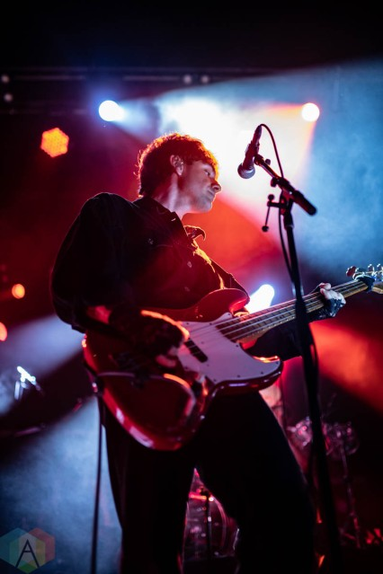 SAN FRANCISCO, CA - SEPT 30: Bad Suns perform at the Warfield in San Francisco, California on September 30, 2021. (Photo: Kris Fuentes Cortes/Aesthetic Magazine)